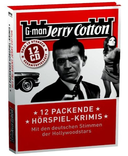 -- - Jerry Cotton - 12 Packende Hörspiel-Krimis