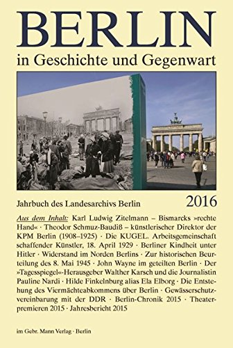 Breunig, W. / Schaper, U. (Hrsg.) - Berlin in Geschichte und Gegenwart