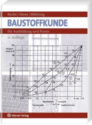 Backe, Hans / Hiese,Wolfram / Möhring, Rolf - Baustoffkunde