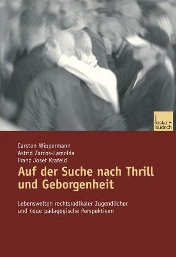 Wippermann, Carsten - Auf der Suche nach Thrill und Geborgenheit