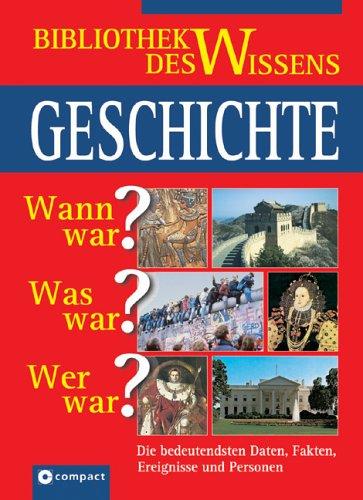 Edbauer, Matthias / Goppold, Uwe - Große Wissenbibliothek Geschichte