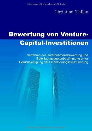 Tallau, Christian - Bewertung von Venture-Capital-Investitionen