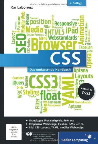 Laborenz, Kai - CSS: Das umfassende Handbuch