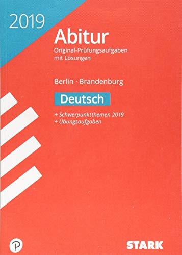 -- - Abiturprüfung Berlin/Brandenburg 2019 - Deutsch