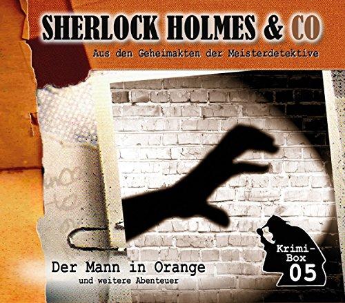 Sherlock Holmes & Co - Krimi-Box 5 (Der Mann in Orange und weitere Abenteuer)