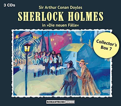 Doyle , Sir Arthur Conan - Sherlock Holmes: Die neuen Fälle - Collector's Box 7 (Die Untoten von Tilbury / Die Spur Ins Nichts / Der ehrlose Löwe)