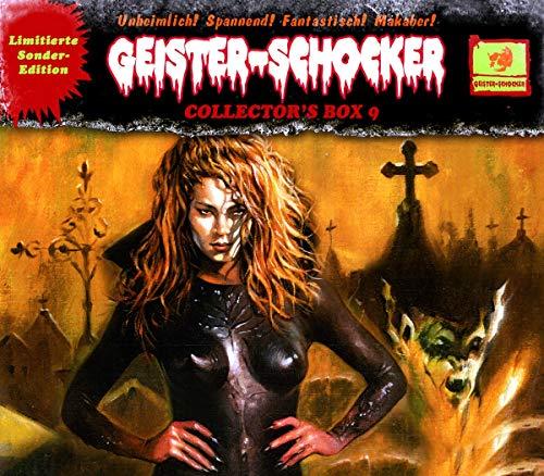 Geister-Schocker - Geister-Schocker Collector's Box 9  (23: Die Sumpfhexe / 24: Das Teufelstestament / 25: Der Horrorgarten des Samurais) (Limitierte Sonder-Edition)