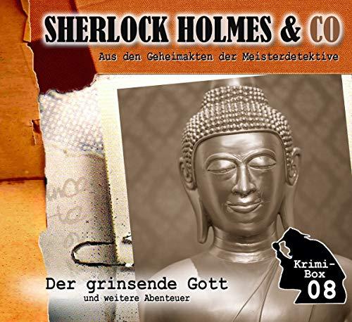 Sherlock Holmes & Co - Sherlock Holmes & Co - Krimi-Box 08: Der grinsende Gott, Tödliche Trauben, Wolfsspuren