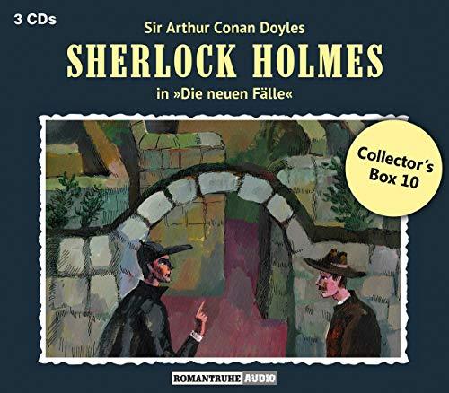 Doyle , Arthur Conan - Sherlock Holmes: Die neuen Fälle - Collector's Box 10 (28: Die Rache des Gerechten / 29: Im Labyrinth des Wahnsinns / 30: Das Rätsel der Aurora)