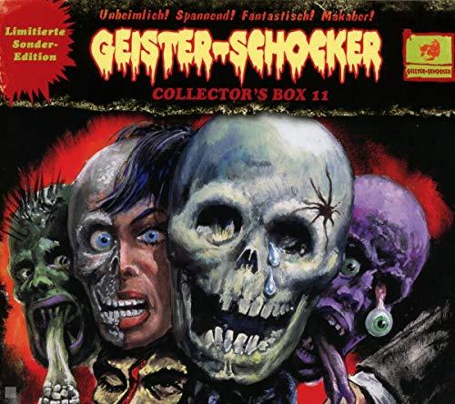 Geister-Schocker - Geister-Schocker Collector's Box 11 (29: Im Höllensumpf der Kannibalen; 30: Die Rückkehr der Mumie; 31: Die Nacht des Teufels) (Limitierte Edition)