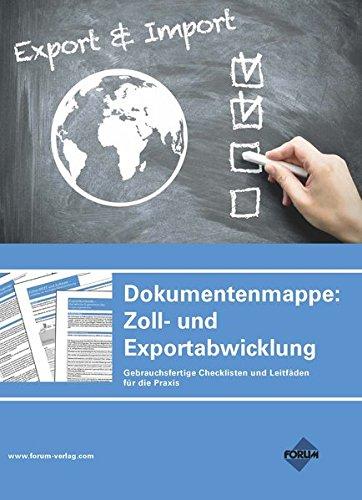 -- - Dokumentenmappe: Zoll- und Exportabwicklung