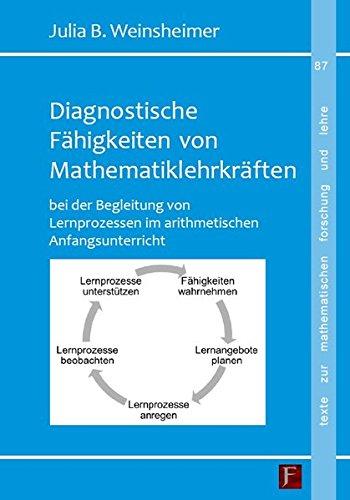 Weinsheimer, Julia - Diagnostische Fähigkeiten von Mathematiklehrkräften