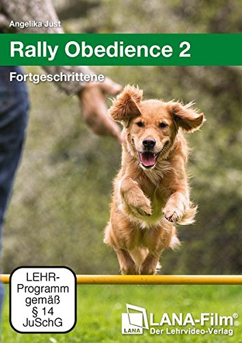 DVD - Rally Obedience 2 - Fortgeschrittene (Angelika Just)