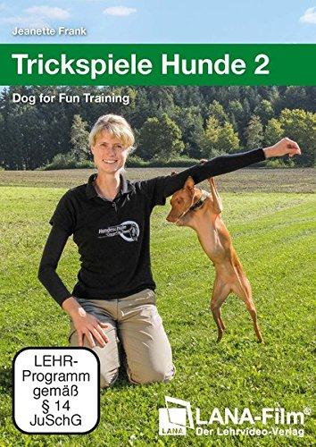 DVD - Trickspiele Hunde 2 - Dog For Fun Training (Jeanette Frank)