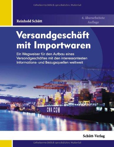 Schütt, Reinhold - Versandgeschäft mit Importwaren