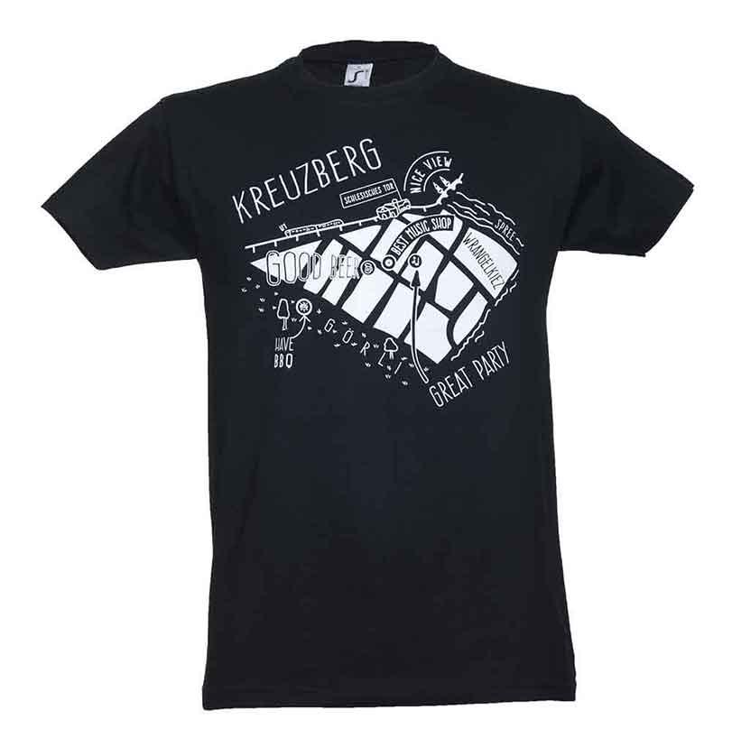 SO36 Streetwear - Wrangelkiez Karte - Größen L, XL