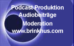 Silvia Brinkhus Podcast Produktion, Audiobeiträge und Moderation